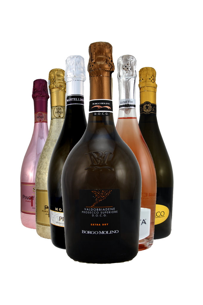 It's been boom time for Prosecco over the last few years so begin your festive experience in style with these flirty fun blends of Sparkling Wine from Prosecco and surrounding areas.