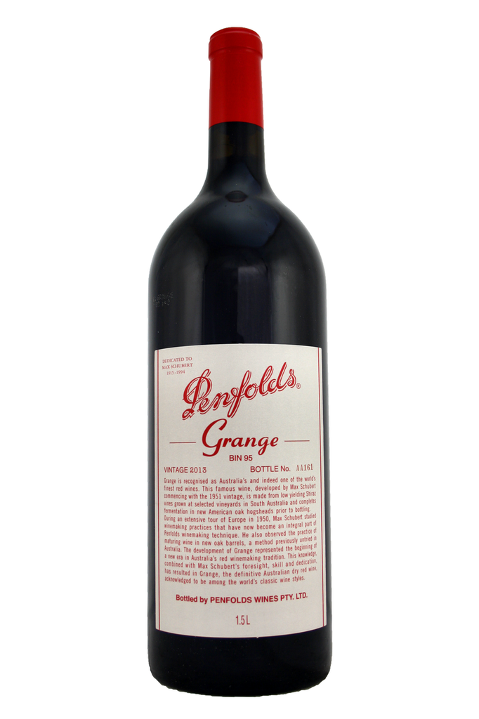 """""""Barossa – but labelled simply as Australia. Leathery and liquorice. Reminds me a bit of port – no surprise, perhaps. Dramatic, symphonic black fruit. Really packs it in. Maintains the legend."""""""