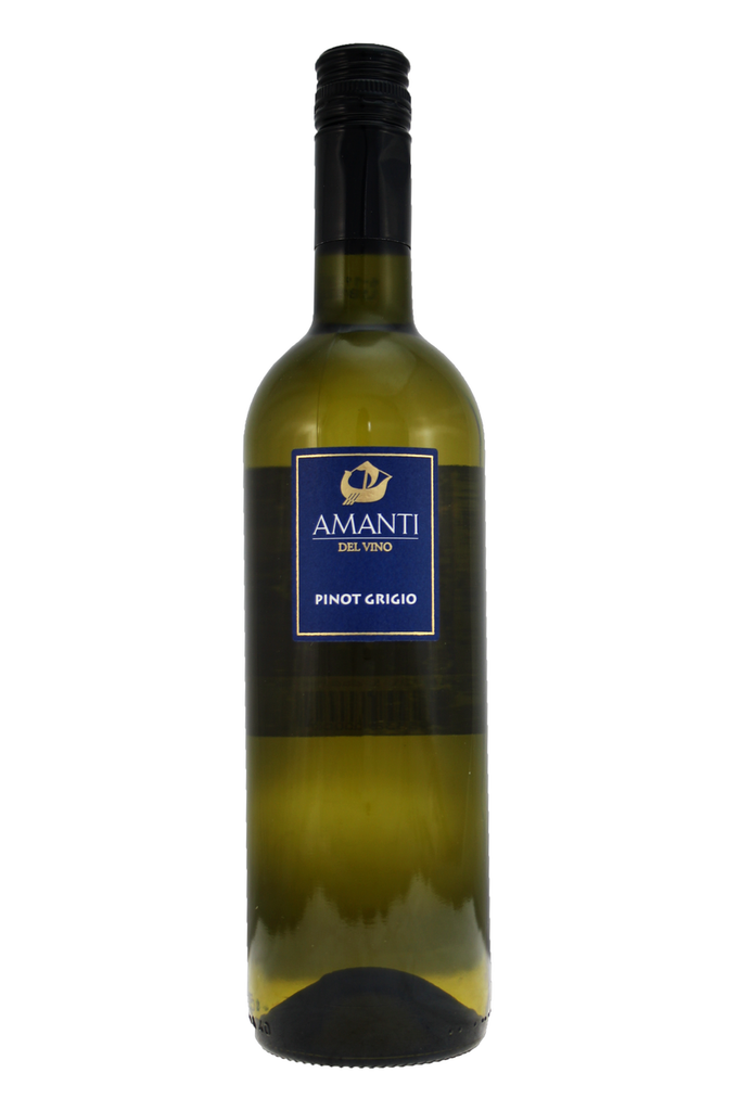 Light, dry, unoaked Pinot Grigio with a crisp freshness and fruit characters of pear and melon.