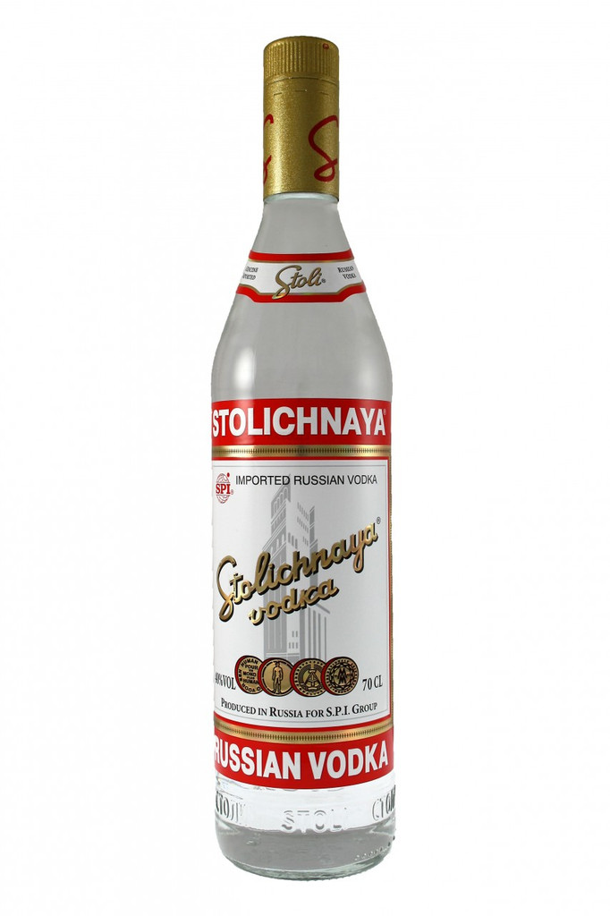 Stolichnaya Vodka is the original, authentic, best known and best selling genuine Russian vodka. Its the most prestigious vodka brand and is rated the best in the world. At the 2005 San Francisco World Spirits Competition, Stolichnaya Vodka brought home the highest honour with - Best Vodka of Show -With more than 600 spirits entries from around the world, judging is based on blind taste tests and medals are awarded on taste alone. This award affirms that Stolichnaya Vodka has developed one of the most highly regarded premium spirits in the industry.
