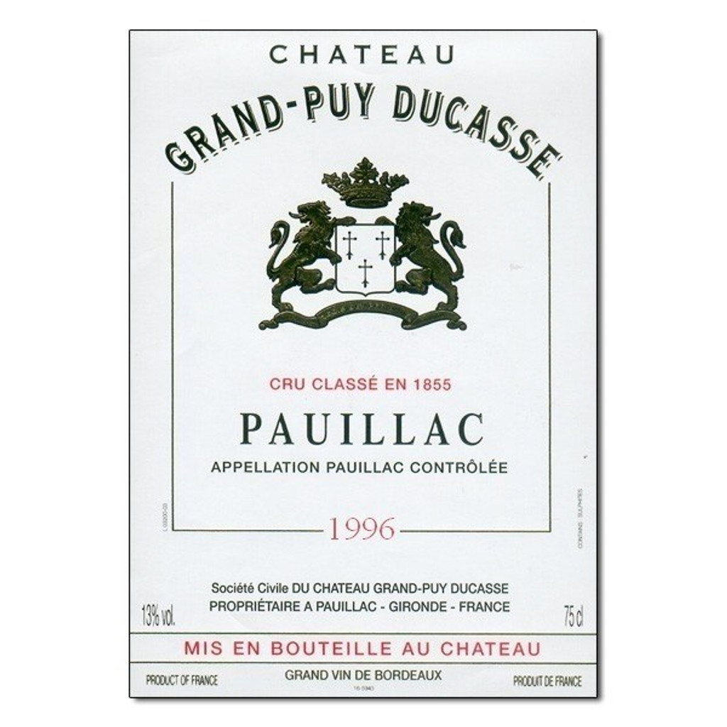 Chateau Grand Puy Ducasse 2017