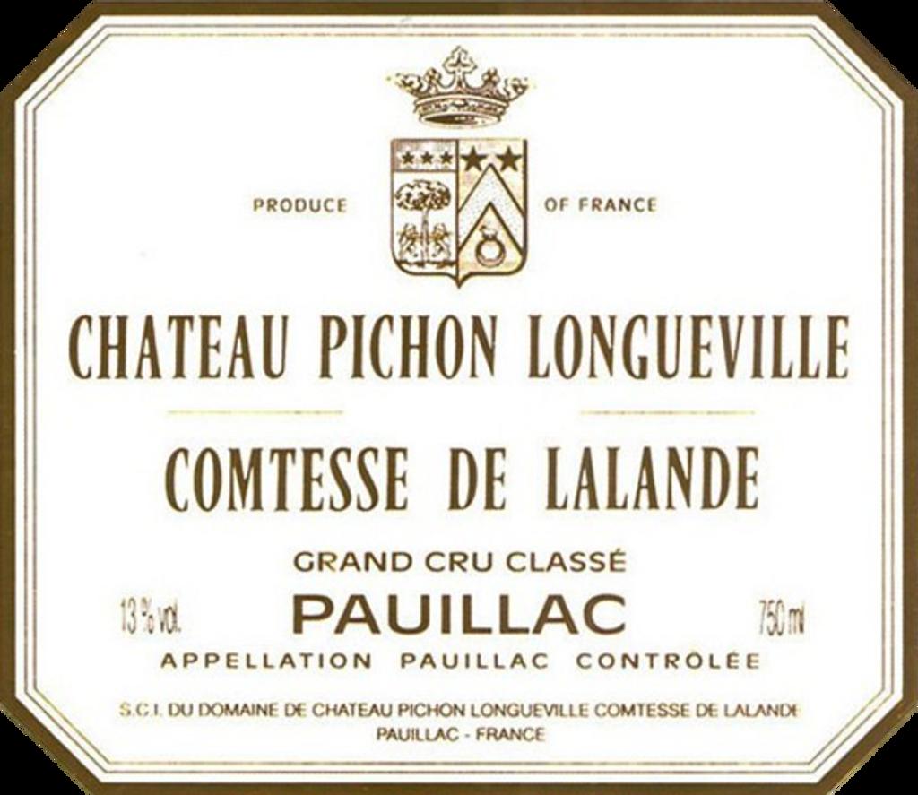 Chateau Pichon Lalande Longueville 2017