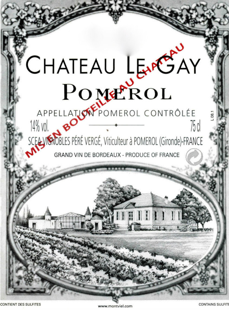 Chateau Le Gay 2017