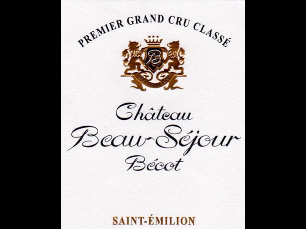 Chateau Beau Sejour Becot 2017
