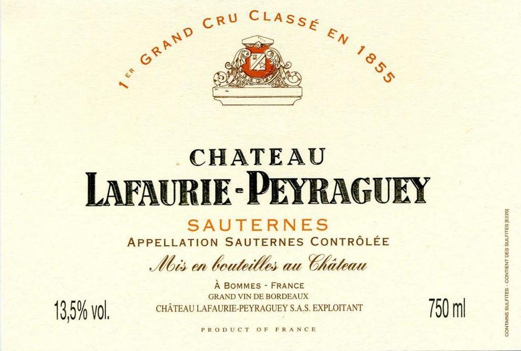 Chateau Lafaurie Peyraguey 2017
