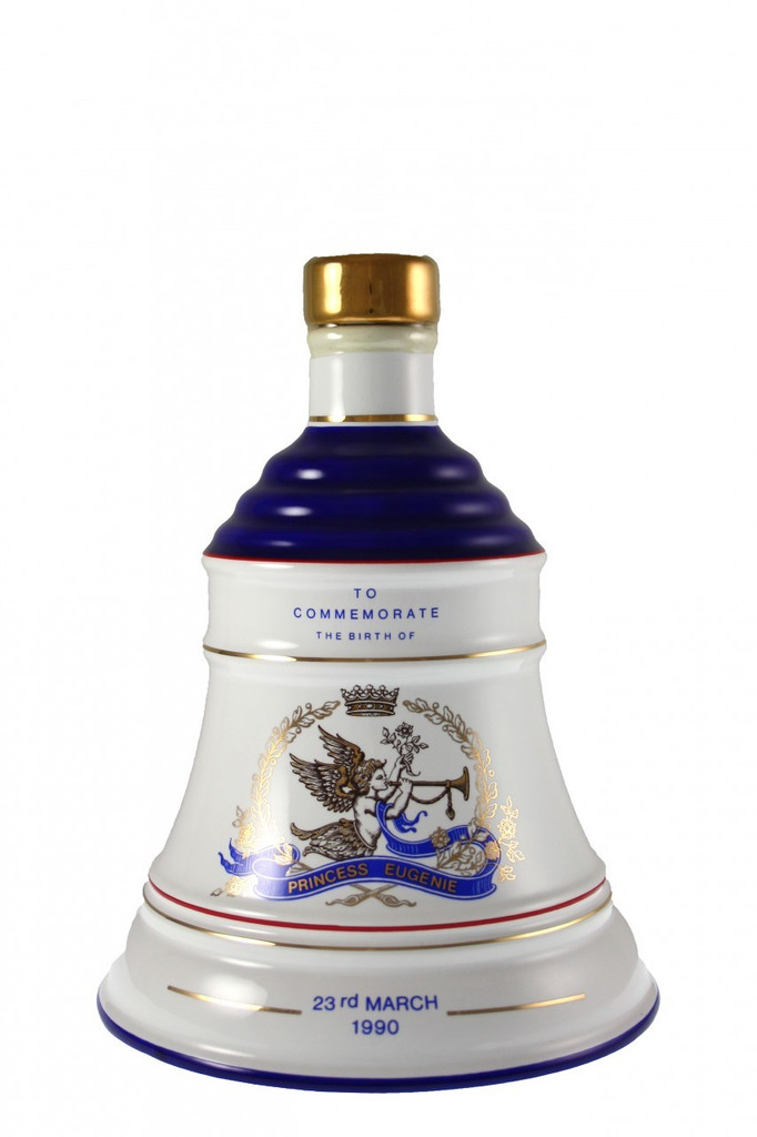 Bell's Whisky Decanter to Commemorate the Birth Of Princess Eugenie 23rd March 1990.