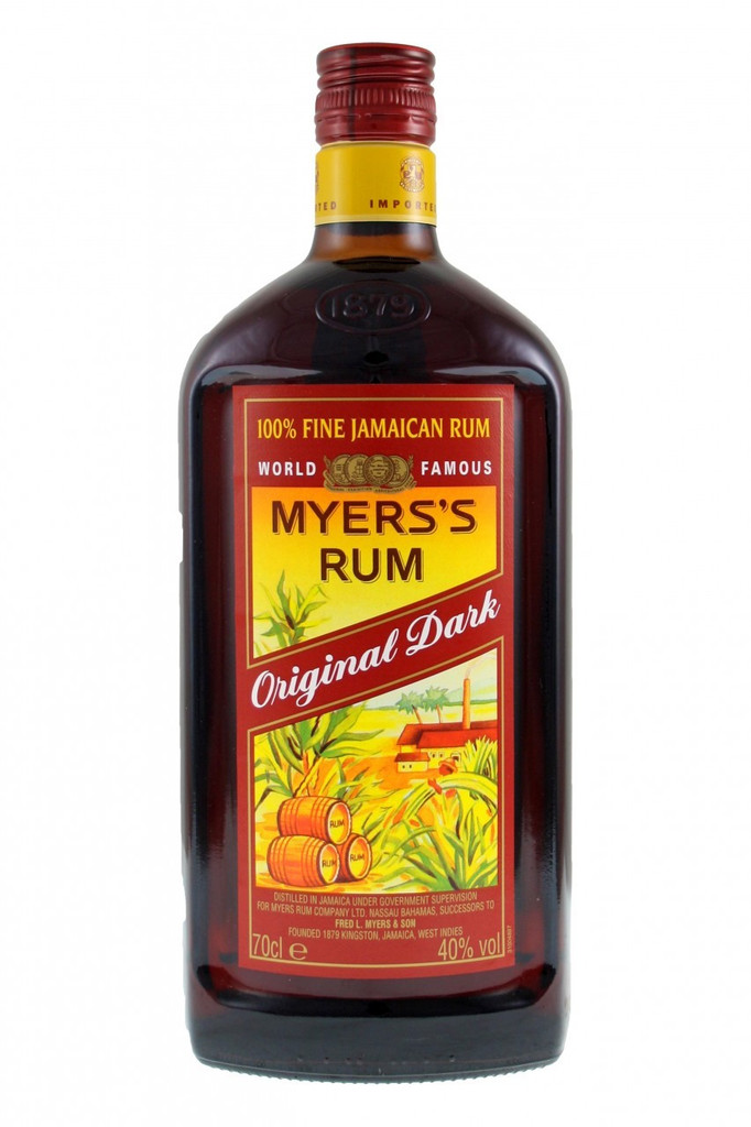 Produced in Jamaica, Myers's rum continues to be distilled in the traditional pot still method and allowed to mature in white oak barrels. It is this final ageing period that plays a critical role in determining the distinctive dark colour and rich, buttery flavour.