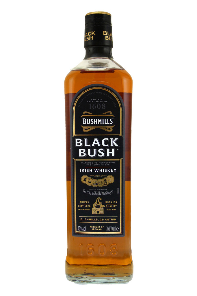 Matured in sherry casks from Ireland's oldest whiskey distillery. Triple distilled blended Irish whiskey.
