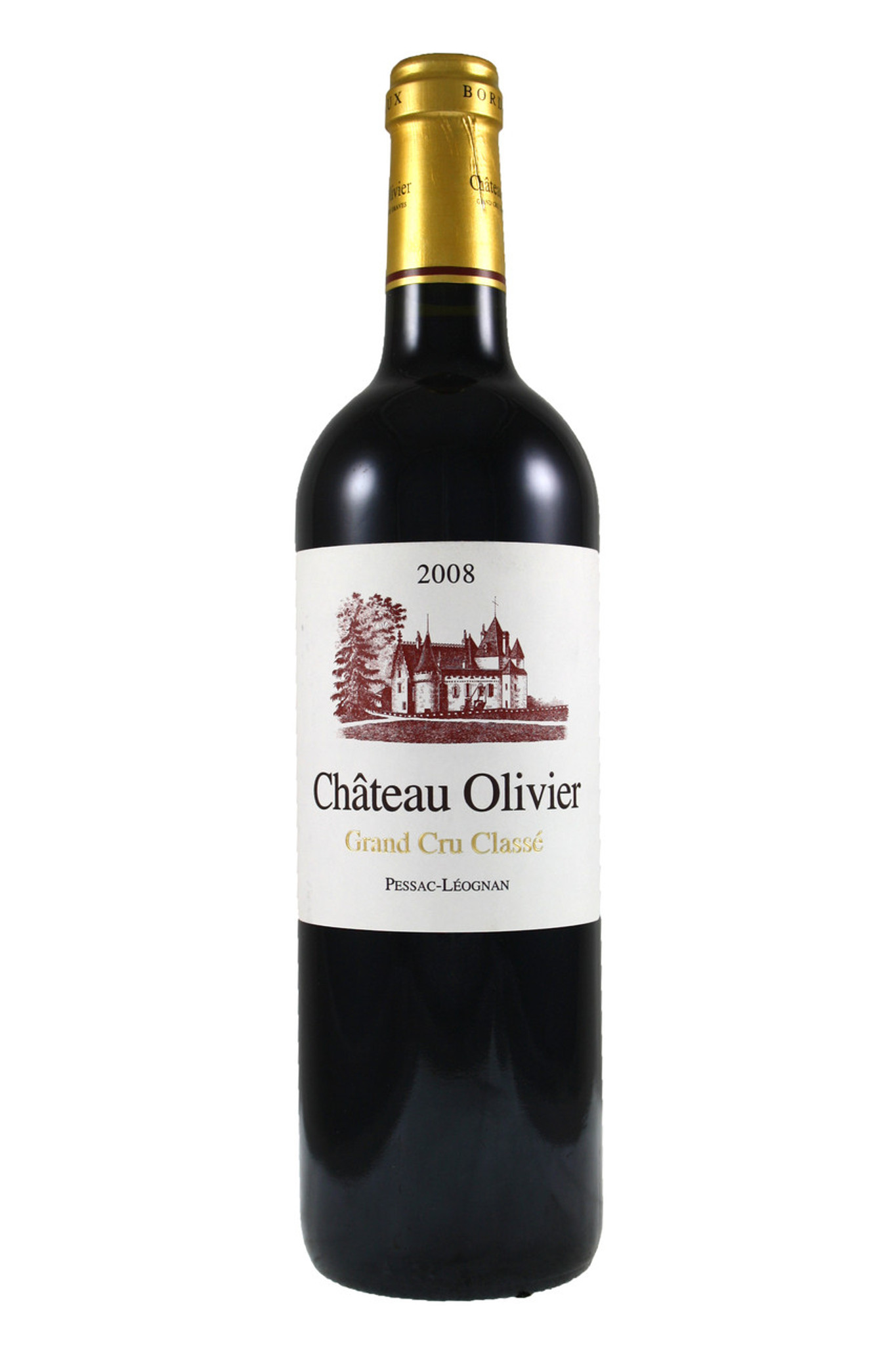 Chateau olivier 2008 chateau olivier from fraziers wine for Chateau olivier