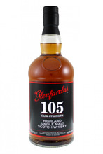 Glenfarclas 105 Cask Strength.  Highland single malt Scotch Whisky.