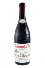 Domaine Vieux Télégraphe Châteauneuf du Pape 2000: A strong hue of maturity here, matt oxblood tones cutting through the deep red pigment. The nose is also mature, a combination of slightly sweaty roasted fruits, a little barnyard and baked liquorice. The storage for this bottle has been beyond question, first a respected retailer than a cellar with favourable temperatures. The palate has good substance and holds onto its sweet slightly grainy tannins, although there is a slightly raw and youthful side to it. Good fruit, showing a mature and open style, and in the mix a good but slightly disjointed acidity. It is only the finish where there is any real concern, showing here a more tertiary character, meaty and mature. It is five years since I tasted this; it has certainly moved on during that time. From a 2000 Southern Rhône tasting. 17.5+/20 Chris Kissack The Wine Doctor http://www.thewinedoctor.com