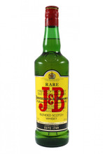 """The fruity smoothness and elegant structure of J&B Rare are formed from the finest Speyside malt whiskies at the heart of the blend. After blending, many Scotch whiskies are returned to oak casks for a month of """"marriage"""". To enhance J&B Rare's elegance of flavour, we take the selected malts from their casks, then """"marry"""" them together in oak for a full year's maturation. This unique process creates a harmonious whisky and gives a distinctive smoothness and elegant balance at the very heart of J&B Rare."""