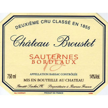 Chateau Broustet 2009