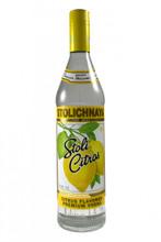 Stolichnaya Citros (Lemon) Russian Vodka