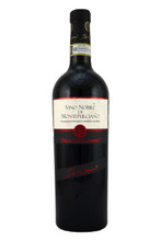 broad and powerful with notes of violets, red currants, spices and tobacco