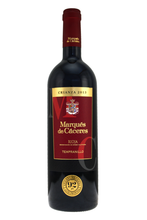 Classic Rioja Crianza, a dark ruby red colour, with flavours of luscious red cherry and strawberry fruits, ripe, silky tannins that blend forming a balanced structure .