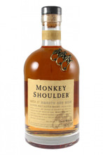 Monkey Shoulder is made from using only single malt, and no grain, Scotch whisky from three Speyside distilleries, the Malt Master has developed a new style 'triple' malt.