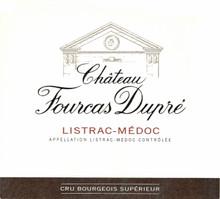 Chateau Fourcas Dupre 2017