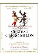 Chateau Clerc Milon 2017