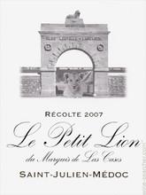 Le Petit Lion de Leoville Las Cases 2017