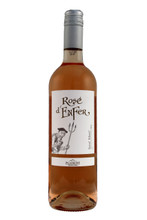 A pale pink colour, with a nose of blackcurrant, raspberry and liquorice.