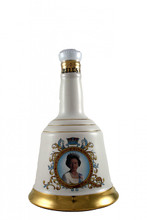 Bell's Whisky Decanter to Commemorate the 60th Birthday of Queen Elizabeth II 21st April 1986