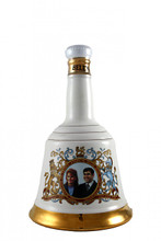 Bell's Whisky Decanter to Commemorate the Marriage of HRH Prince Andrew with Miss Sarah Ferguson 23rd July 1986.