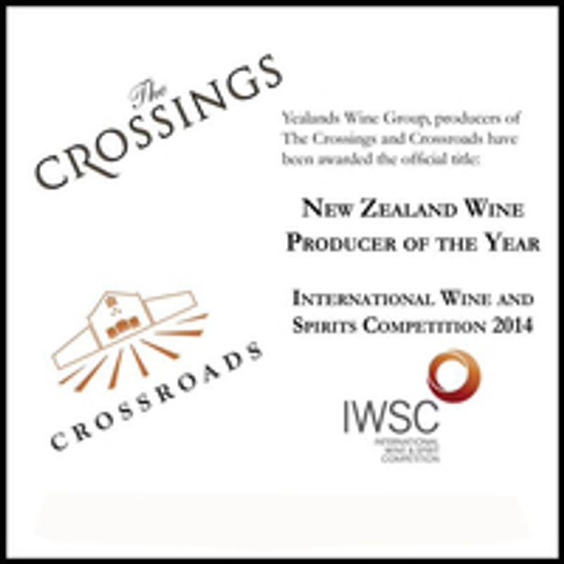 The Crossings Wines from New Zealand Wine Producer of the Year 2014