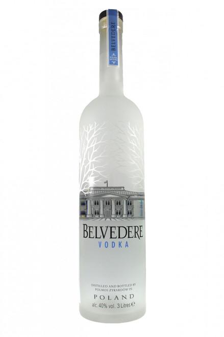 Belvedere Vodka 6 Litres Illuminated Bottle Belvedere From