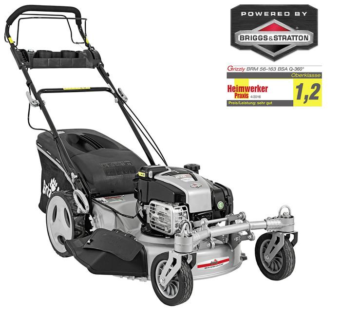 Grizzly BRM 56-163 BSA InStart Q360° Petrol Lawn Mower