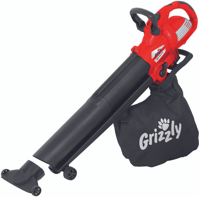 Grizzly ELS 3017 E Electric Leaf Blower/Vacuum 3000W
