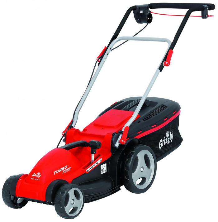 Grizzly ERM 1638 G Electric Lawn Mower 1600W