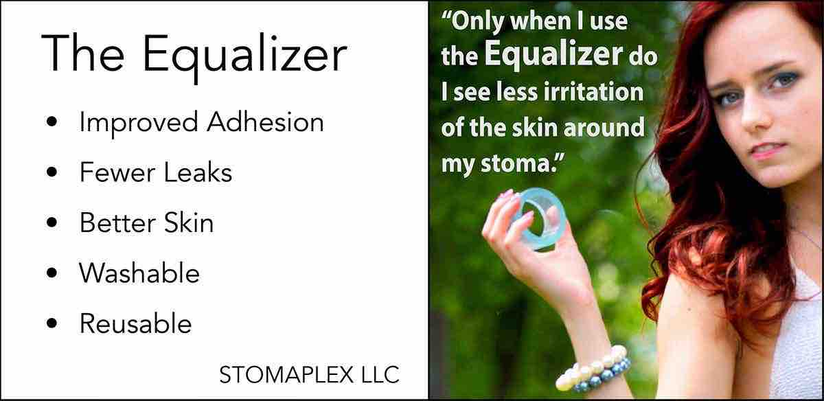 Ostomy Care Products: by Stomaplex and The Equalizer  ostomy leaks, ostomy stoma leak prevention, stop ostomy leaks, colostomy leaks under wafer, leaking skin barrier, stoma skin protection, ostomy leak prevention, better skin care with ostomy, pediatric ostomy care, ostomy little one bag leaking, ileostomy leaks, prevent ostomy leaks, ostomy model, protect skin from leaking stoma