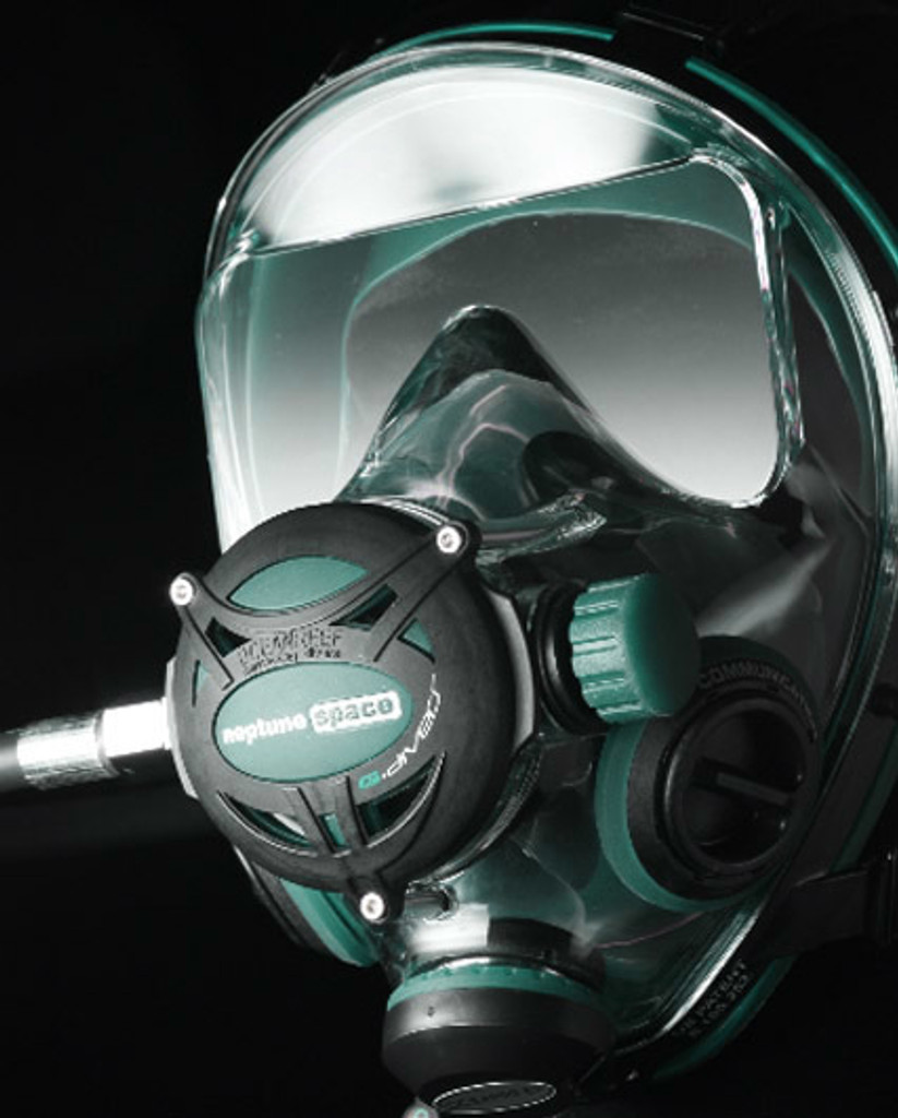 G.divers Full Face Mask + GSM G.divers - Emerald