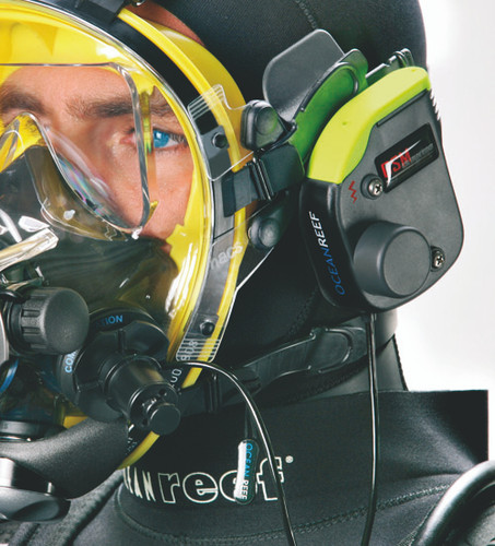 Alpha Pro X-Divers Underwater Unit for Hardwired Communications