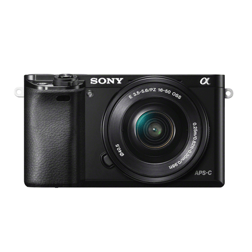Sony A6000 16-50mm F3.5-5.6 Kit Black