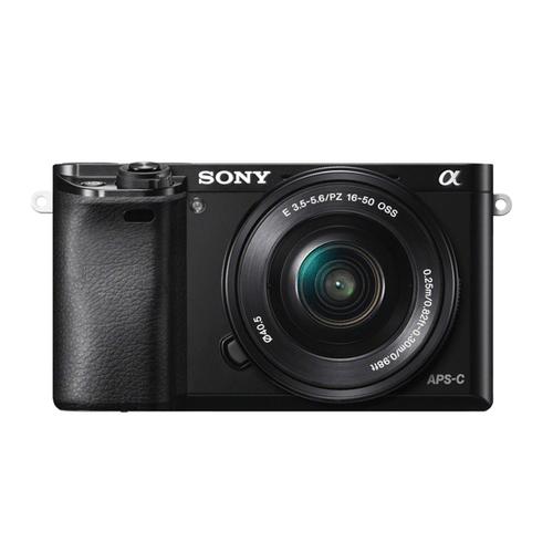Sony A6000 16-50mm F3.5-5.6 Kit Black