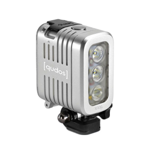 Knog Qudos Action LED Light Silver