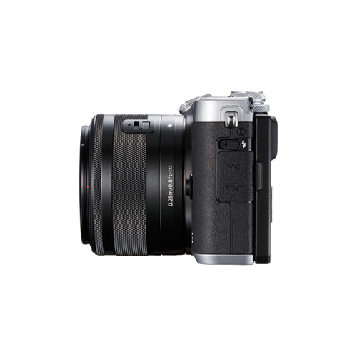 Canon EOS M6 15-45mm Kit Silver