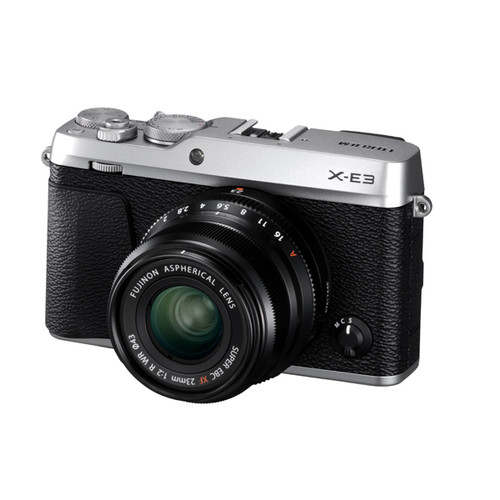 Fujifilm X-E3 23mm F2 Kit Silver