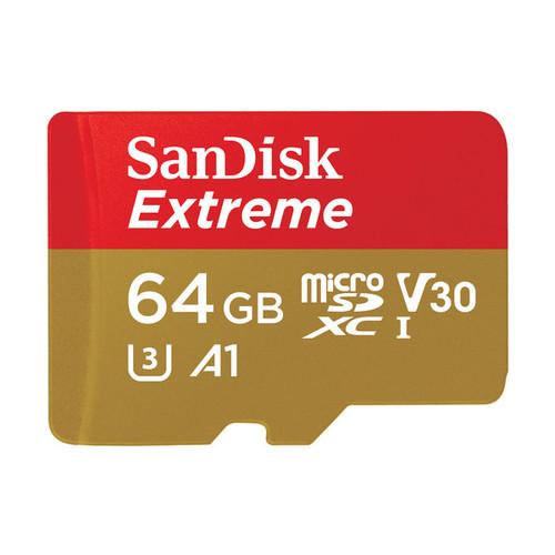 Sandisk Extreme 64GB MicroSD 100MB/s UHS-I SDXC Card