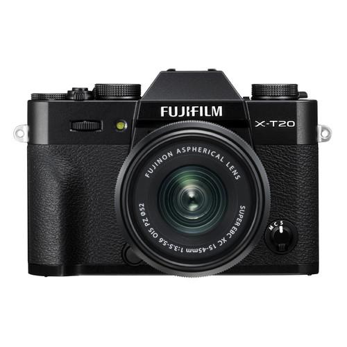 Fujifilm X-T20 Kit with XC15-45mm PZ Lens Black