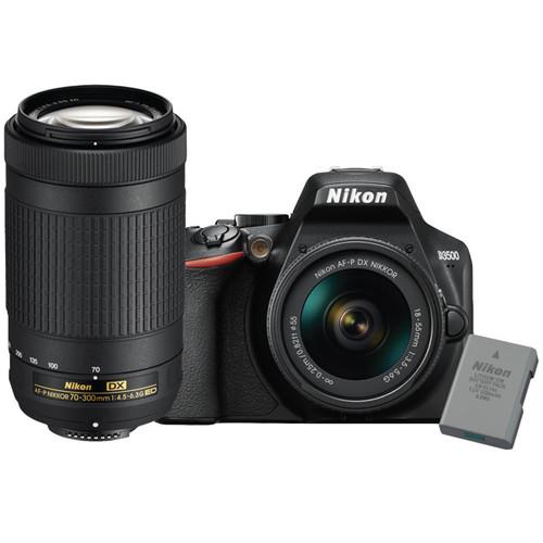 Nikon D3500 Dual Lens Hard Bundle