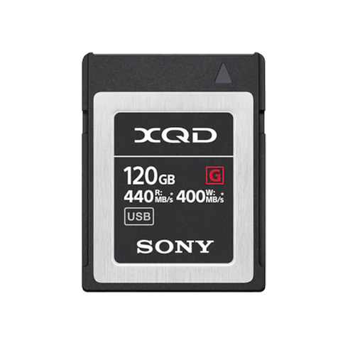 Sony G-Series 120GB XQD QD-G120F Memory Card