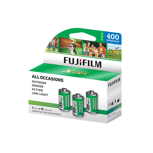 Fujifilm Superia CH 400 ISO/36 exp - 3 pk