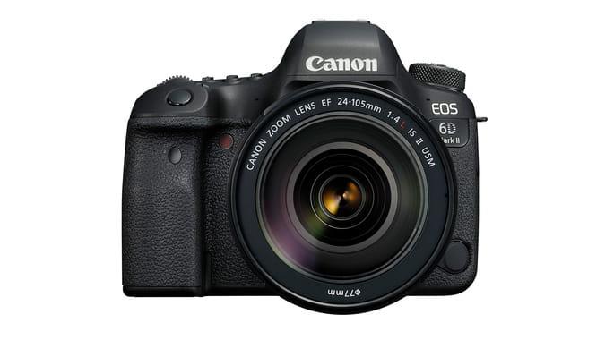 Canon Announces 6D Mark II and Rebel SL2