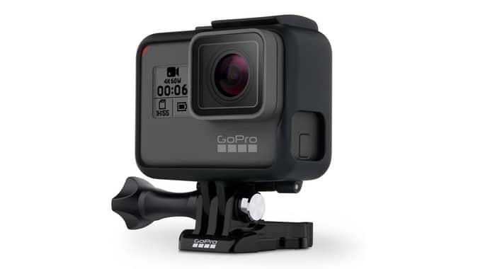 GoPro Hero 6 Black Shoots at 4K/60fps