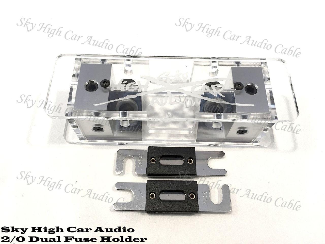 Sky High Car Audio 2/0 ANL Fuse Holder - Set Screw