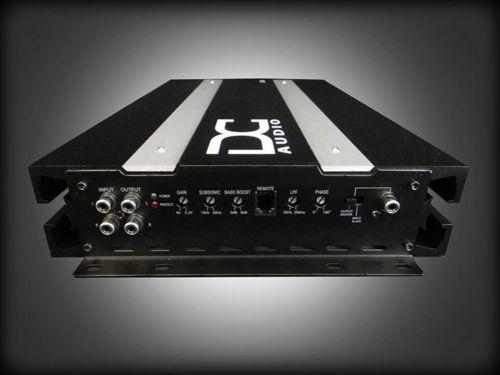 DC Audio 2.0k - 2,000w Monoblock Amplifier