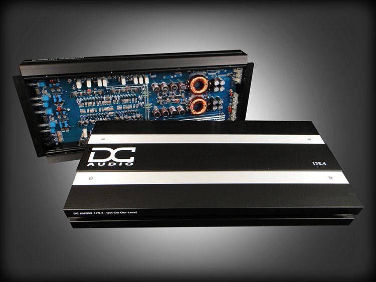 DC Audio 175.4k - 700w 4-Channel Amplifier